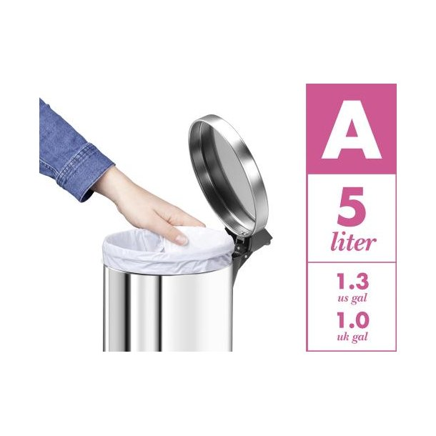 Hailo Affaldsposer 5 liter 40 stk Kode A