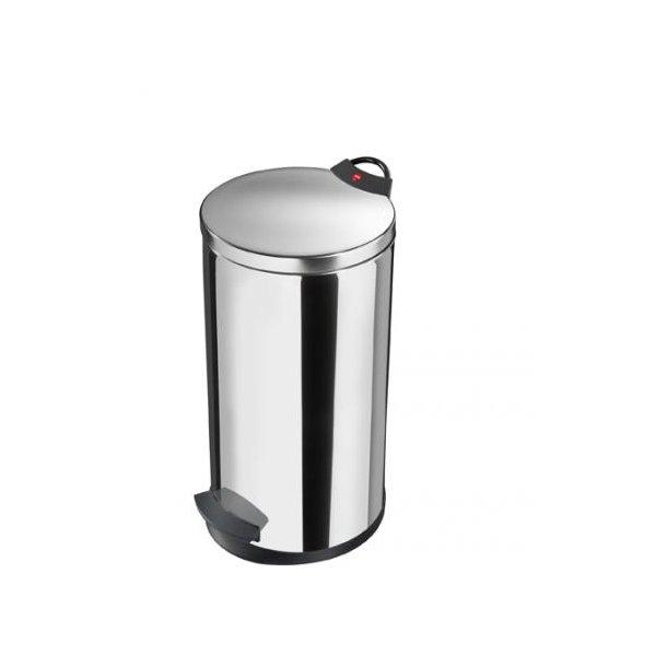 Hailo T2 Pedalspand 20 Liter - Rustfrit Stål