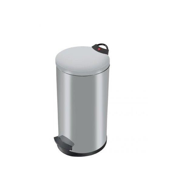 Hailo T2 Pedalspand 20 Liter - Silver