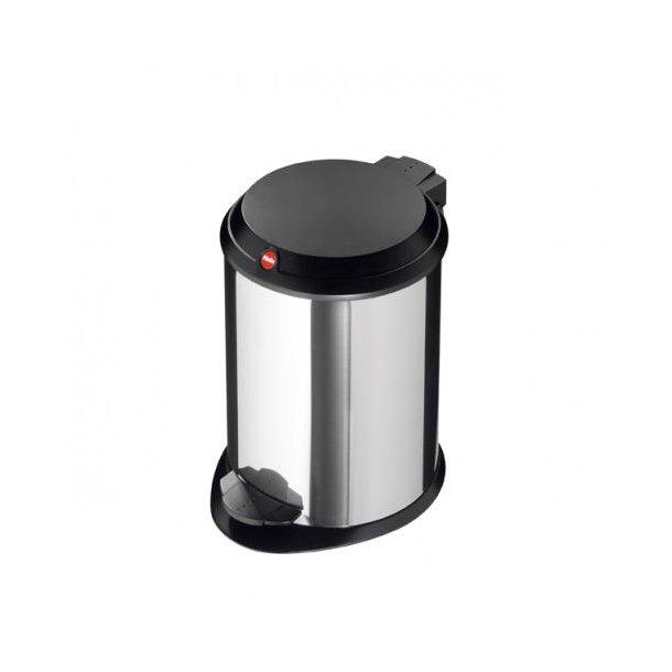 Hailo T1.4 Pedalspand 4 Liter - Rustfrit Stål