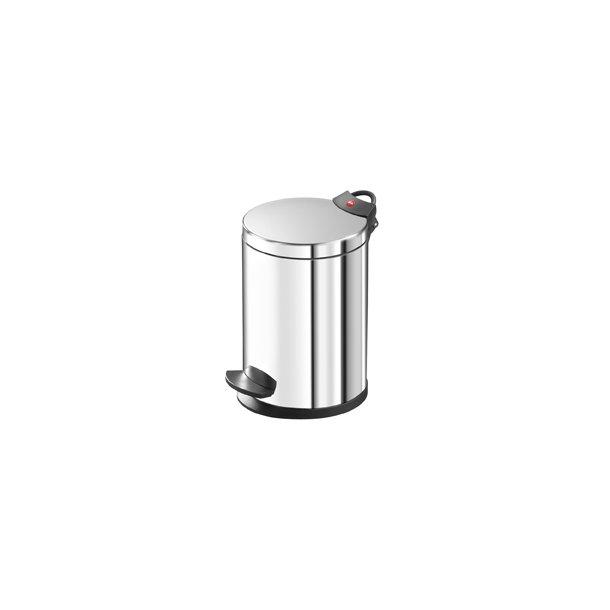 Hailo T2.4 Pedalspand 4 Liter - Rustfrit Stål