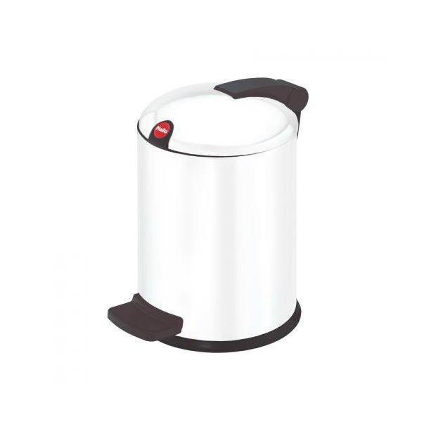 Hailo Design Pedalspand Hvid, 4 Liter