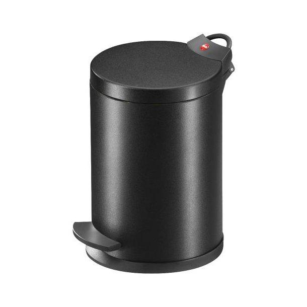 Hailo T2.4 Pedalspand BlackLine, 4 Liter