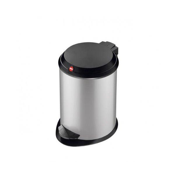 Hailo T1.4 Pedalspand Silver, 4 Liter