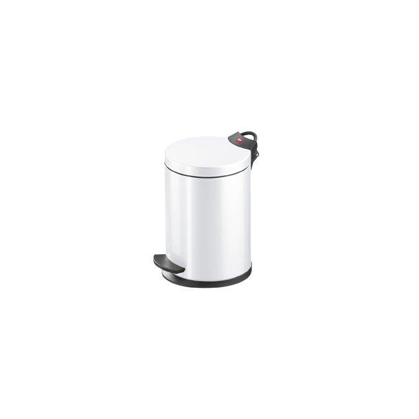 Hailo T2.4 Pedalspand Hvid, 4 Liter