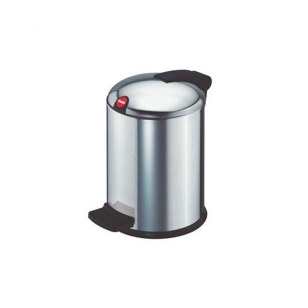 Hailo Design Pedalspand Rustfrit Stål, 4 Liter