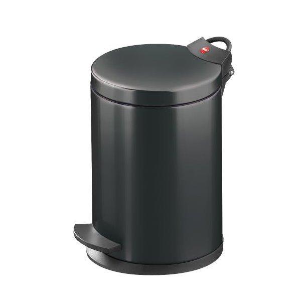 Hailo T2.4 Pedalspand 4 Liter - Sort