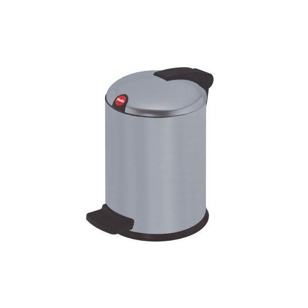 Hailo Design Pedalspand Silver, 4 Liter
