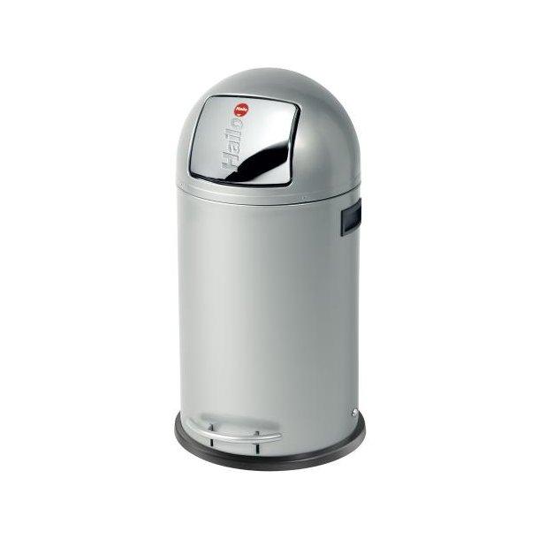 Hailo KickMaxx 35 Liter Affaldsspand - Silver