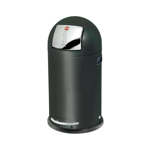 Hailo KickMaxx 35 Liter Affaldsspand - Sort
