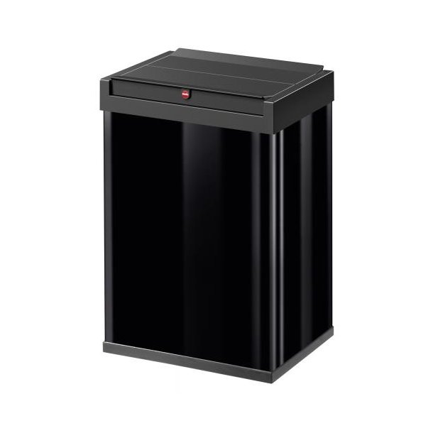 Hailo Big-Box Swing Affaldsspand 40 Liter - Sort