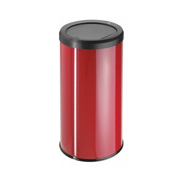 Hailo BigBin Affaldsspand Med Vippelåg 45 Liter - Rød