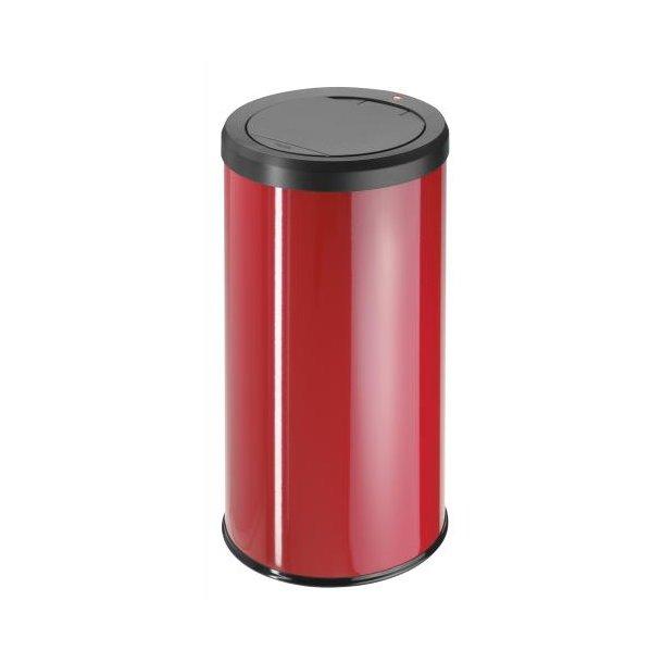 Hailo BigBin Affaldsspand Med Touch Låg 45 Liter - Rød