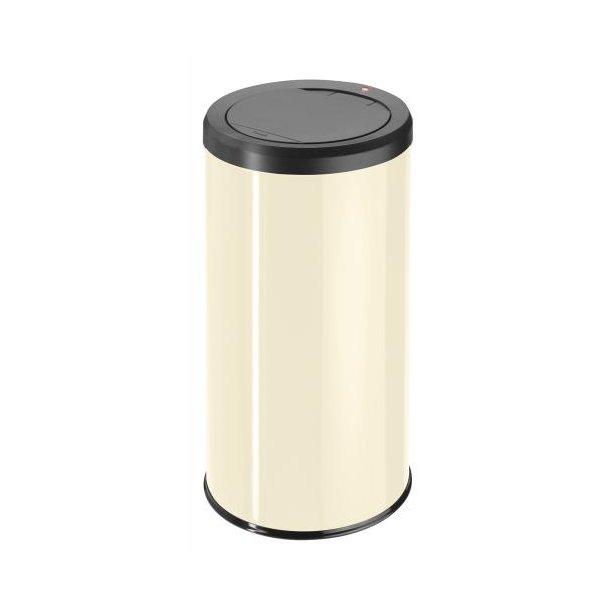 Hailo BigBin Affaldsspand Med Touch Låg 45 Liter - Vanilje