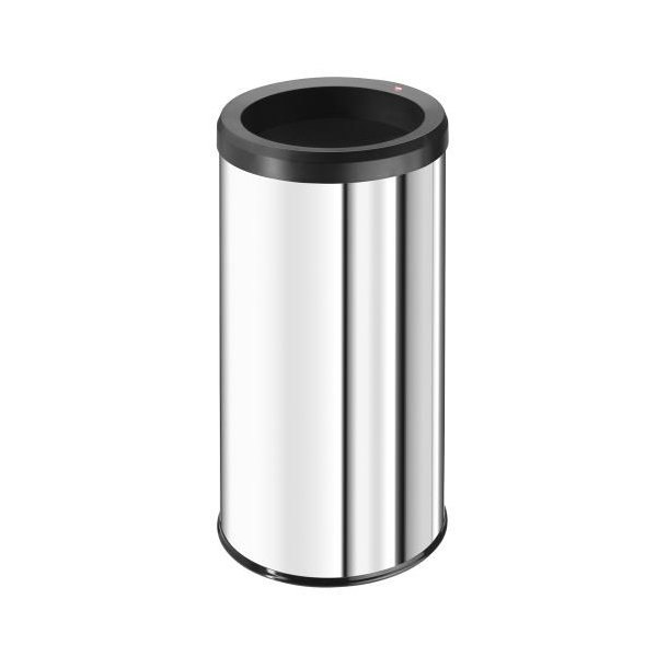 Hailo BigBin Affaldsspand Quick - Rustfrit Stål, 45 Liter