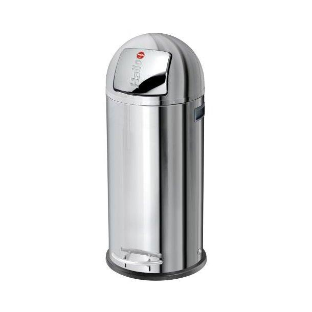 Hailo KickMaxx 50 Liter Affaldsspand, Rustfrit Stål
