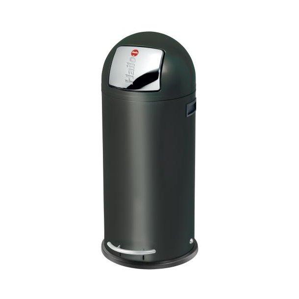 Hailo KickMaxx 50 Liter Affaldsspand, Sort