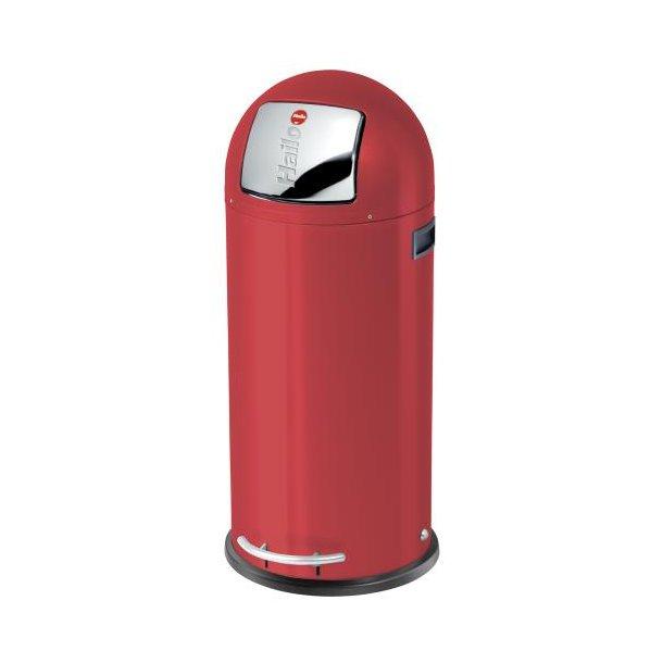 Hailo KickMaxx 50 Liter Affaldsspand - Rød