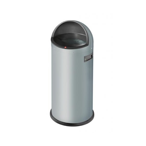 Hailo Quick 50 Liter Affaldsspand, Silver