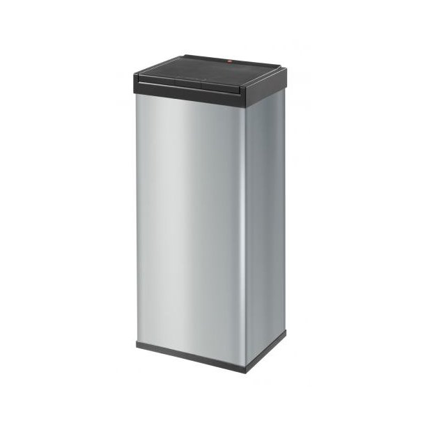 Hailo Big-Box Touch Affaldsspand Silver, 60 Liter