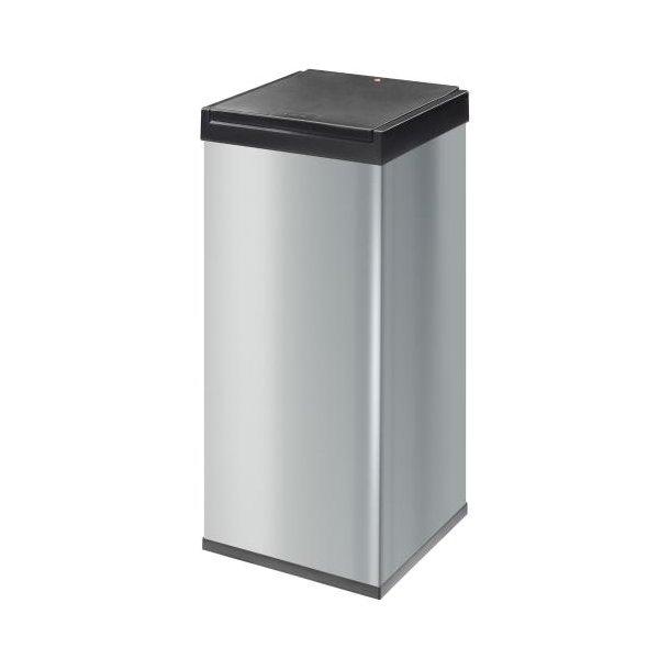 Hailo Big-Box Touch Affaldsspand Silver, 80 Liter