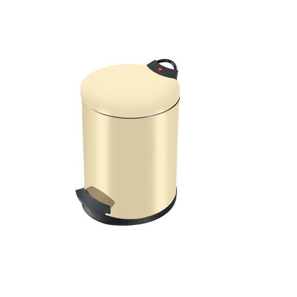 Hailo T2. Pedalspand 13 Liter - vanilje