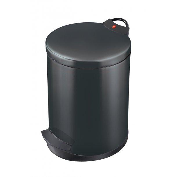 Hailo T2. Pedalspand Sort, 13 Liter