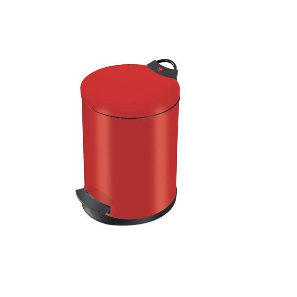 Hailo T2. Pedalspand 13 Liter - Rød