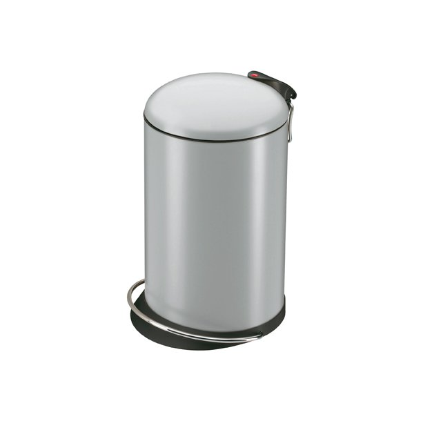 Hailo TOPdesign Pedalspand 16 Liter - Silver
