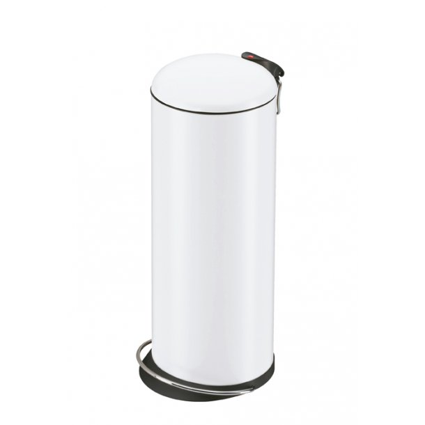 Hailo TOPdesign Pedalspand Hvid, 26 Liter