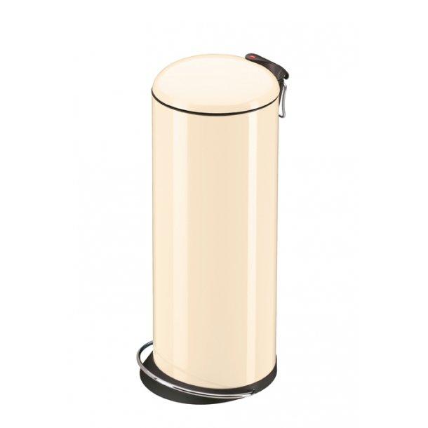 Hailo TOPdesign Pedalspand vanilje, 26 Liter