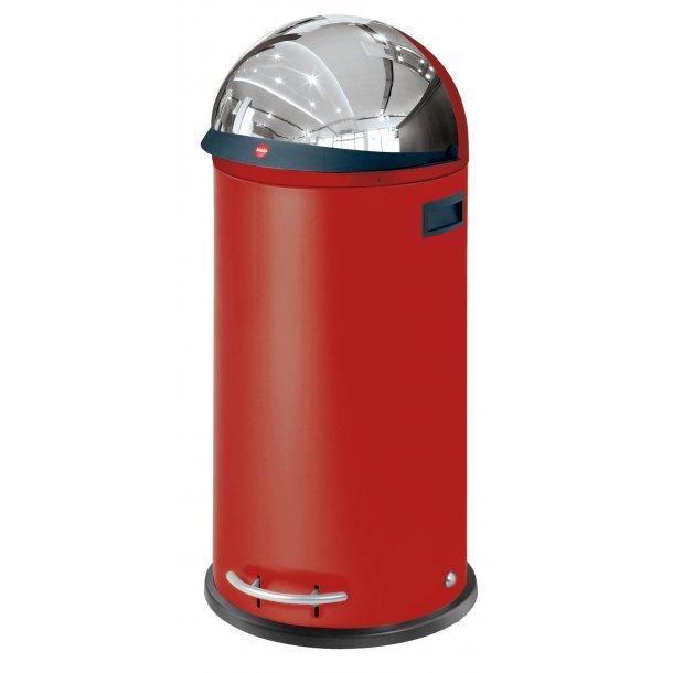 Hailo KickVisier 50 Liter Affaldsspand - Rød