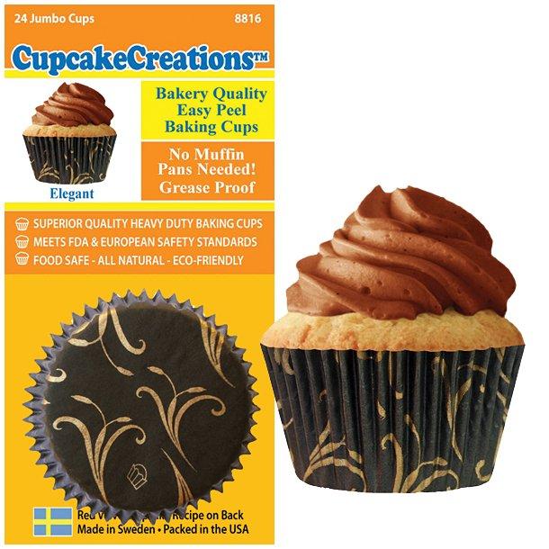Siege Cupcake Form - Jumbo  24 Stk*