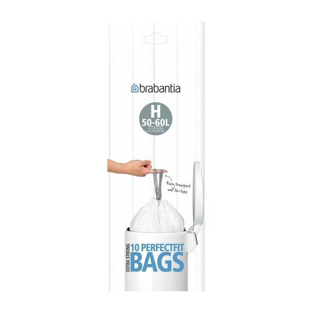 Brabantia Affaldsposer 50-60 liter mærke H