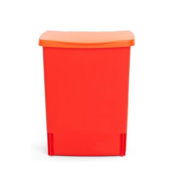 Brabantia built in bin rød 10 liter   482267   skraldespand til ...
