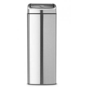 Brabantia Affaldsspand Touch Bin Rektangular 25 Liter - Mat Stål FPP