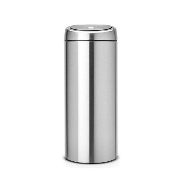 Brabantia Touch Bin Mat stål 30 Liter - 288647