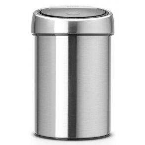 Brabantia Touch Bin 3 Liter Børstet Stål - Væghængt
