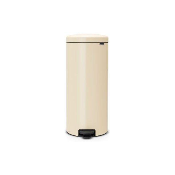 Brabantia Pedalspand newIcon 30 Liter Almond / Creme - 114281