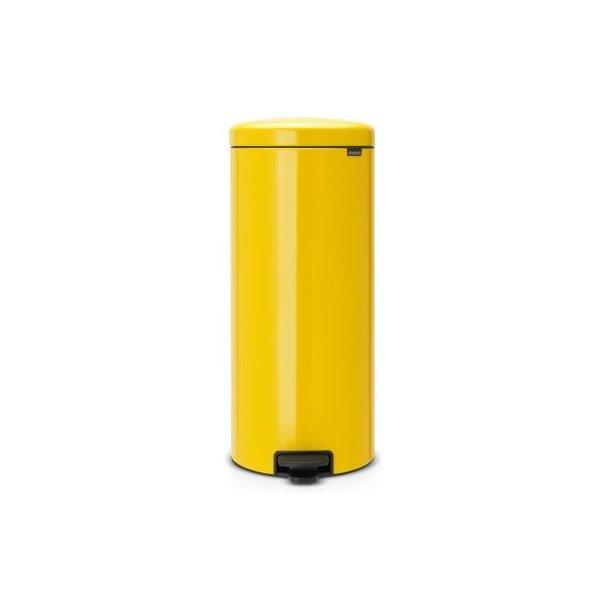 Brabantia Pedal bin newIcon 30 Liter Daisy Yellow
