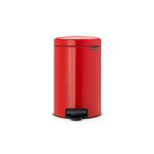 Brabantia Pedal bin newIcon 12 Liter Passion Red