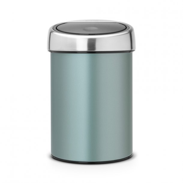 Brabantia Touch Bin Metallic Mint Væghængt 3 Liter - 364402