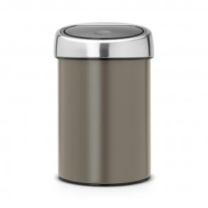Brabantia Touch Bin 3 Liter - Platinum - Væghængt
