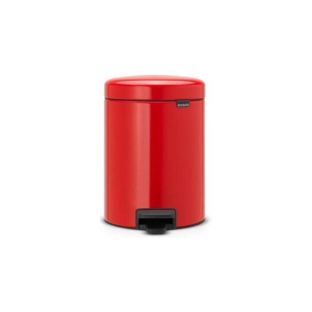 Brabantia Pedalspand newIcon 5 Liter Passion Red / Rød