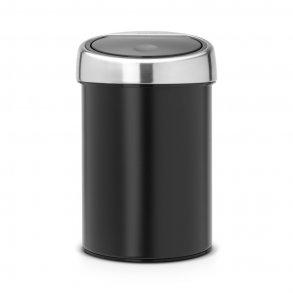 Brabantia Touch Bin 3 Liter - Sort- Væghængt