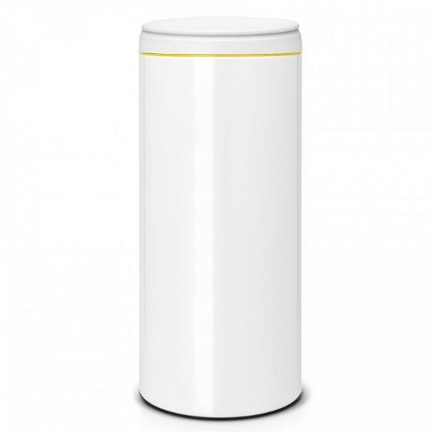 Brabantia FlipBin 30 Liter Hvid - Grå Låg - 106866