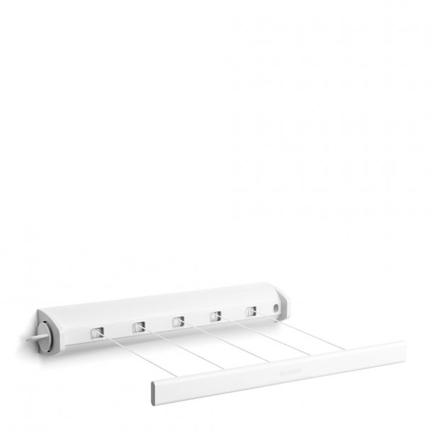 Brabantia Pull-out Clothesline 22 meters White