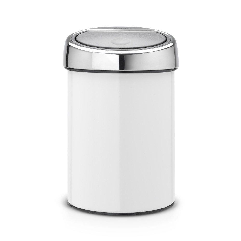 buy brabantia touch bin 3 litre wall mounted fast. Black Bedroom Furniture Sets. Home Design Ideas