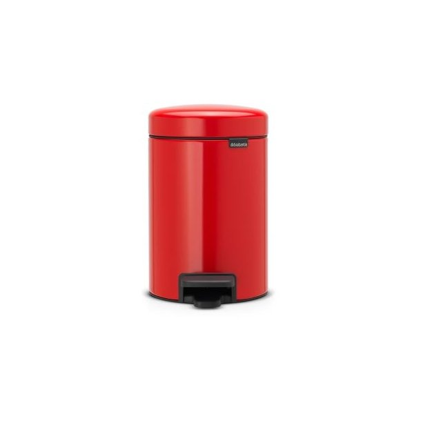 Brabantia Pedalspand newIcon 3 Liter Passion Red / Rød / Rød - 112140