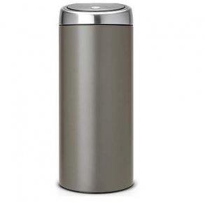 Brabantia Touch Bin 30 Liter - Platinum